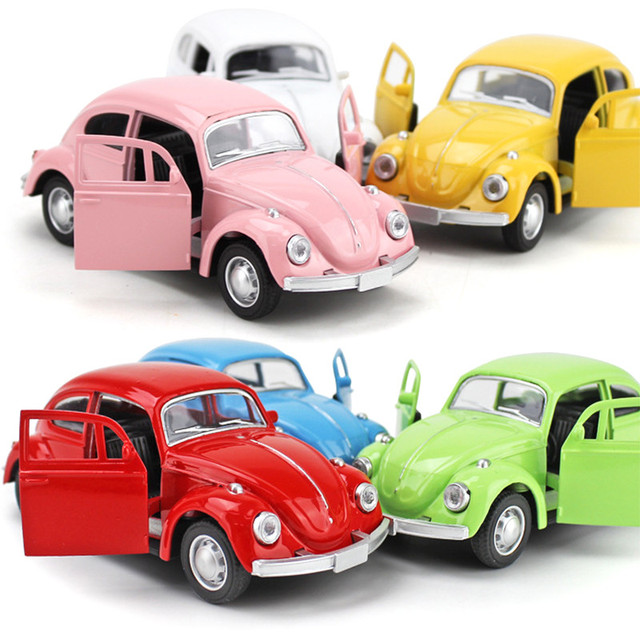 Metal Pull Back Car Clic Beetle Bug Model Toy Lightning For Christmas Gift Toys Children Mini