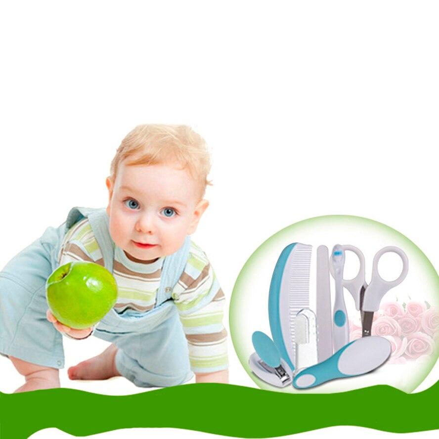 7PCS / SET Babyhälsovård Manikyr Set Baby Special Nail Clippers - Barnomsorg - Foto 3