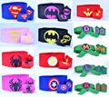 superman tmnt batman spiderman Felt Wrist Cuffs+Belt - Superhero Cuffs Superhero Belt for children kids costume