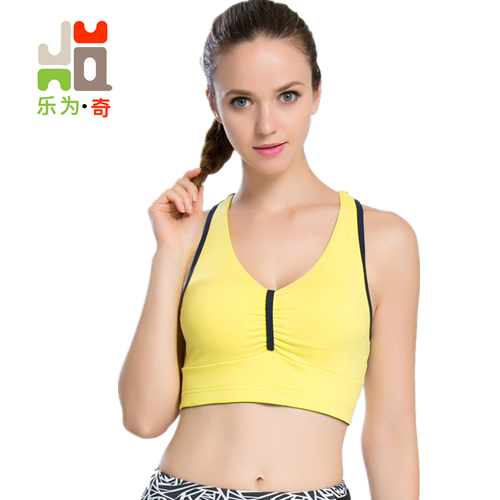 c900146cf0 2018 Hot Back Sexy Yoga Bra Women Padded Sports Bra Shake proof Running Bra  Workout Gym Bra Wire Free Push Up Fitness Sport Top-in Sports Bras from  Sports .