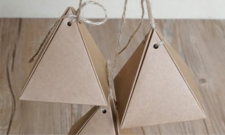 7.5*7.5*8センチクラフト紙箱で麻ropehandmadeキャンディーボックス食品包装箱ギフト紙箱200ピース/ロット送料無料  グループ上の ホーム&ガーデン からの ギフトバッグ & ラッピング用品 の中 1