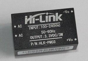 Image 5 - Q17332 5 하이 링크 HLK PM03 AC DC 220V ~ 3.3V 스텝 다운 벅 절연 전원 모듈 지능형 가정용 스위치 컨버터