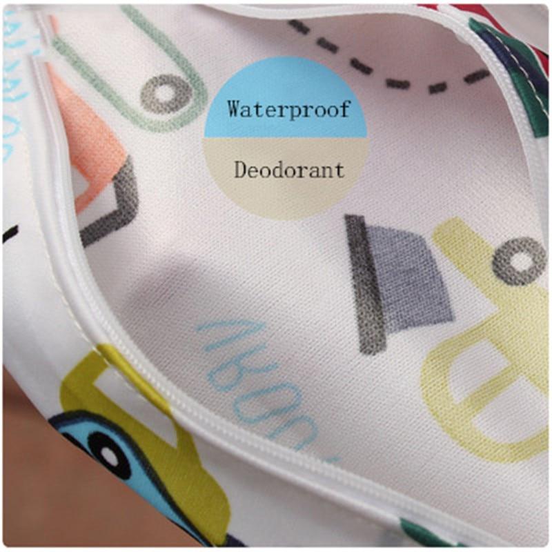 Baby 30 40cm Diaper Bag Infant Waterproof Reusable Wet Dry Bag Print Pocket Nappy Bag Travel Baby 30*40cm Diaper Bag Infant Waterproof Reusable Wet Dry Bag Print Pocket Nappy Bag Travel Single Layer Diaper Bag with Zipper