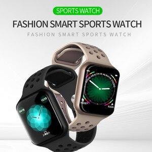 Image 5 - Wearpai F8 reloj inteligente Deporte Fitness reloj Monitor de ritmo cardiaco inteligente pulsera calorías recordatorio de llamada impermeable