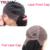 Corto Bob Onda Brasileña Natural de la Onda Del Cuerpo Del Frente Del Cordón Del Pelo Humano pelucas Con El Pelo Del Bebé Sin Cola Llenas Del Cordón Bob Pelucas Para Negro mujeres