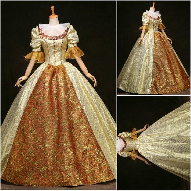 1800S Blue cotton Civil War Southern Belle Ball Gown evening Dress ...