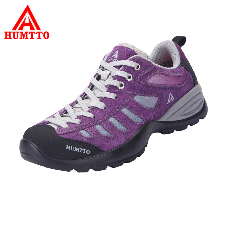 HUMTTO Women's Hiking Shoes Outdoor Shoes Fur Mesh Breathable Trekking Climbing Shoes Boots Anti-Slippery Mountain Sneakers 2016 men s breathable air mesh hiking shoes lace up women mountain climbing outdoor sports boots sneakers scarpe trekking uomo