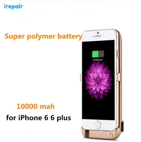 Wireless 10000mAh Back Clip Battery Charger Power Bank For iPhone 6 6s 6plus 6s plus Mobile