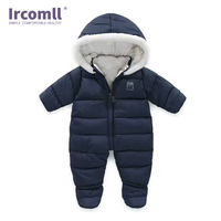 Thick Infant one pieces Romper For Baby Newborn Inside Plus Velvet Soft Winter Toddler Overalls Baby Clothes Toddler body suit