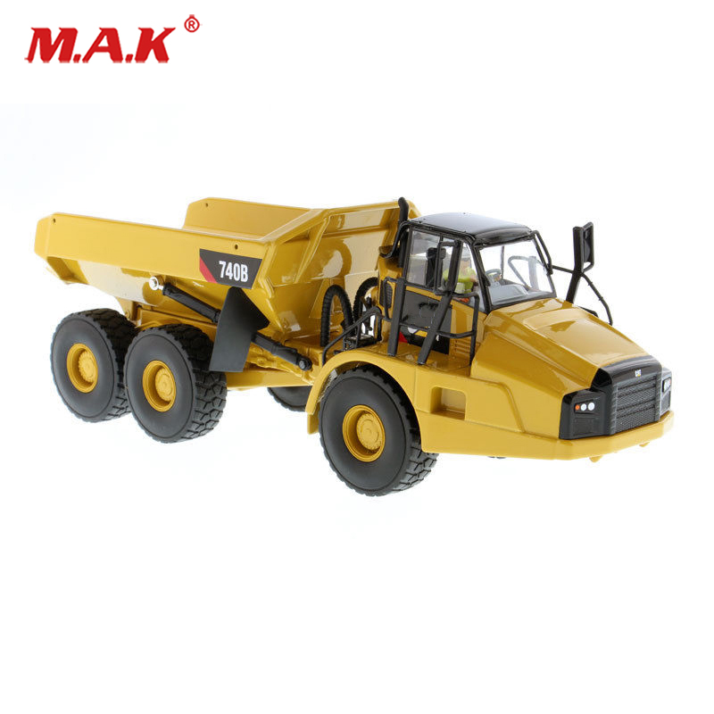 Kids toys 1/50 740B Engineering Car Diecast Articulated Truck Model Diecast Model Engineering Vehicles Model Construction car