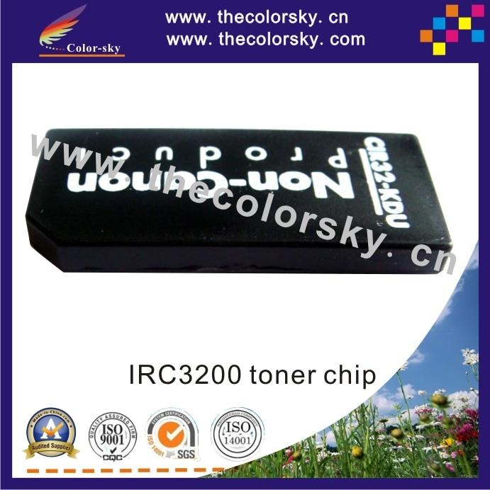 (cz-irc3200t) compatible toner cartridge chip restter for Canon IR C3200 C3220 C2620 C2660 GPR10 GPR11 BKCMY