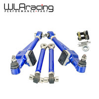 WLR RACING FRONT LOWER CONTROL ARM For NISSAN S13 Adj. Front Lower Control Arm Blue Color WLR9831