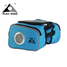 PLAYKING Saddle Bag For Bike Cycling Phone Cases Bike Accessories Front Bar Handlebar Bag With Speaker Bicycles Bag PM1319