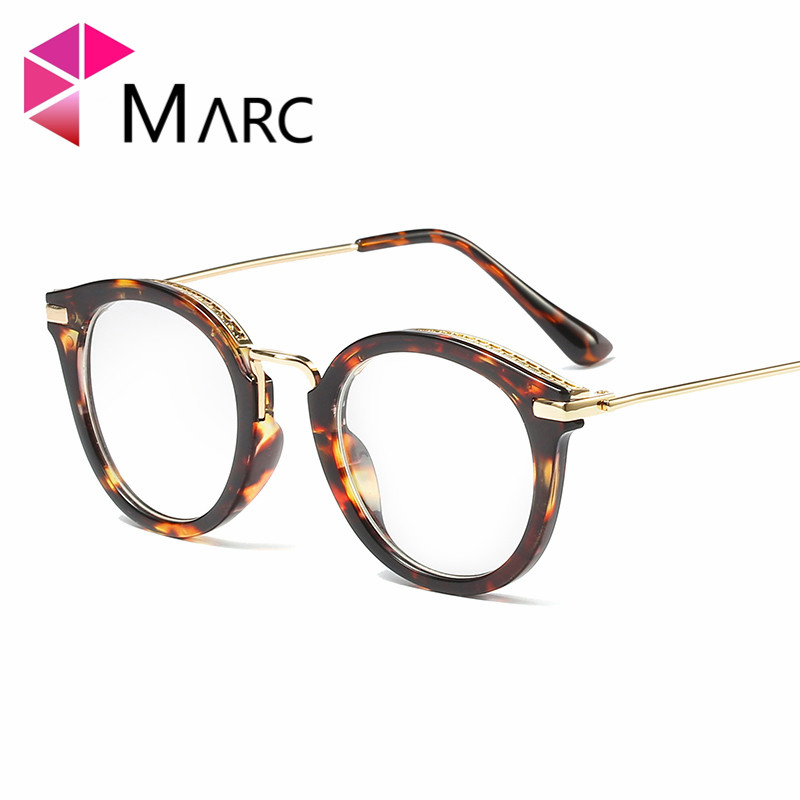 MARC WOMEN Optical Frames Red Black Plain glasses colorful Cat eye classic Literature and art retro spectacles Plastic 92181 in Men 39 s Eyewear Frames from Apparel Accessories