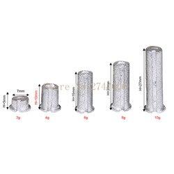 5 قطعة/الحزمة جولف الرصاص التوصيل الأوزان ل. 335. 350 355 370 تلميح الصلب رمح OEM معدات الغولف 2g/4g/6g/8g /10g