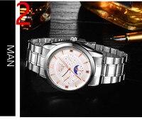 Оригинальные мужские часы водонепроницаемые автоматические механические часы мужские часы Стальные со светящимися модными мужские часы