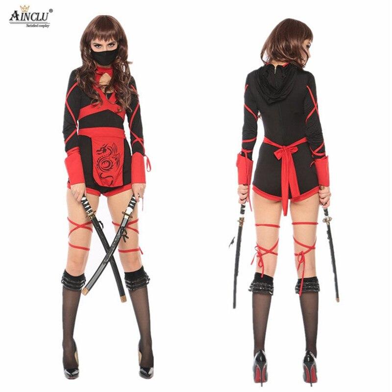 Halloween cosplay Japanese Anime warrior ninja uniform dress fantasia infantil girls Cosplay Female carnaval disfraces costume