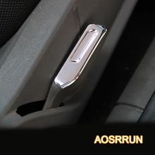 ABS Хромированная накладка сплав гаечный ключ для сиденья блестки изменение отделка для Ford Focus 2 седан хэтчбек 2006-2009 2010 2012 автомобильные аксессуары