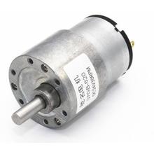 JGB37-520 Deceleration Motor, Miniature DC Gear 6V 12V 24V Robot Motor