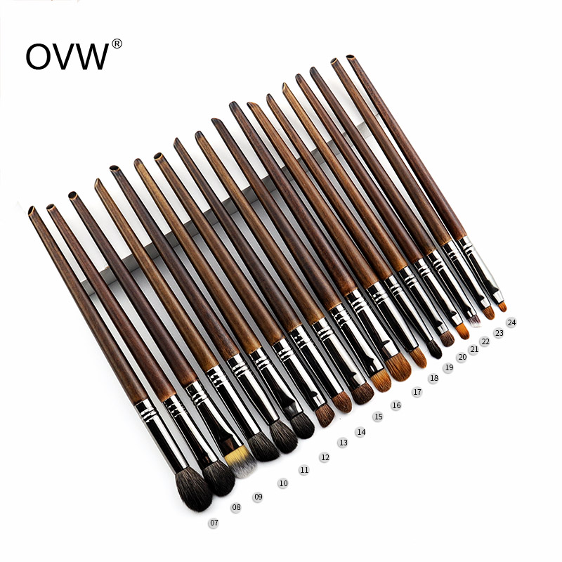 OVW Natural Goat Hair Eyeshadow Brush Professional Makeup Brushes Crease Blending Shader kist' dlya teney kist' dlya brovey(China)