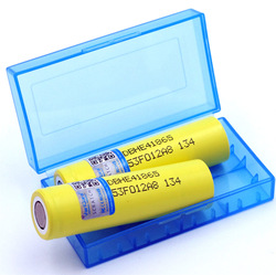 VariCore for he4 New Original HE4 18650 Rechargeable li-lon battery 3.6V 2500mAh Battery can keep + Storage box