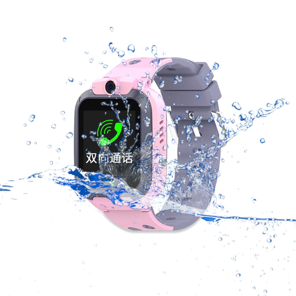 Image 2 - DS59 Children'S Smart Phone Watch Waterproof LBS Positioning Touch Screen Anti Lost Primary School Student Smart Watch-in Smart Watches from Consumer Electronics
