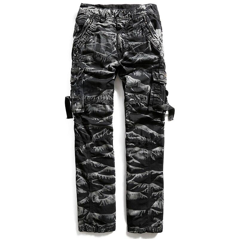 Black Noir Green Poches Cargo Camouflage 2017 Camo camouflage Armée Marque Hommes Mens 702 Militaire Coton camouflage vert Pantalon Moto Mutil De Tactique aB1nxwqg