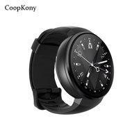 Coopkony Android 7,0 Смарт часы 4 г сим карты смартфон 2MP Камера gps WI FI 1 ГБ 16 ГБ Smartwatch телефон Для мужчин Носимых устройств