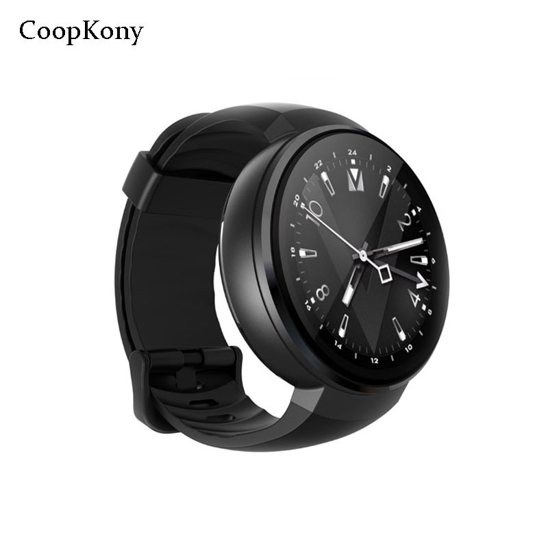 Coopkony Android 7.0 Smart Watch 4G Sim Card Smart Phone 2MP Camera GPS WIFI 1GB 16GB Smartwatch Phone Men Wearable Devices