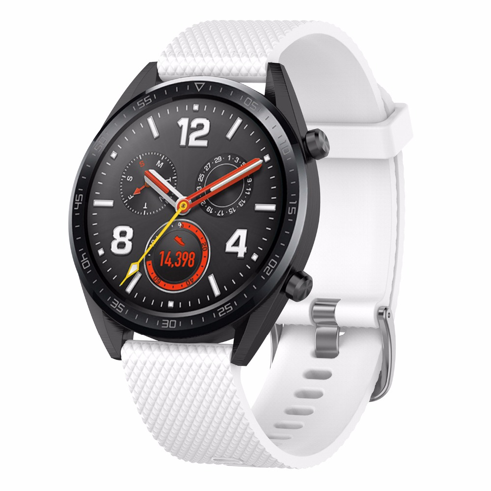 Image 4 - Silicone strap replacement watchband smartwatch strap for Huawei Magic / Watch GT / Ticwatch Pro-in Smart Accessories from Consumer Electronics