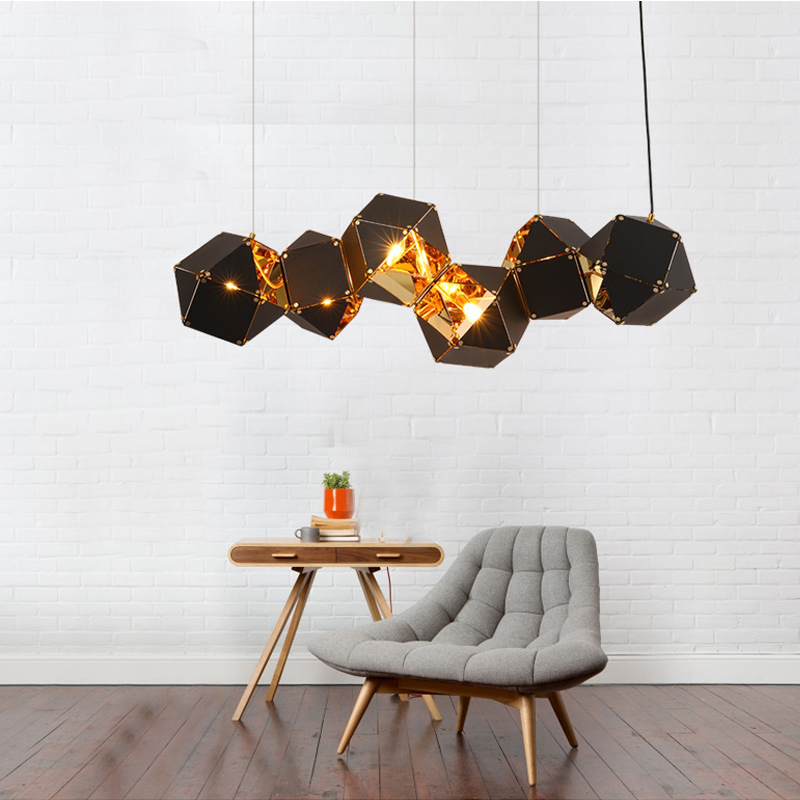 Welles Pendant light DNA Hanging Lamp Restaurant Pendant Lamp Living Room Lustres Kitchen Lighting Fixture Suspension Luminaire small pendant light fixture lustres hanging suspension bedroom lamp aluminum pendant lighting lamp for living room dining room