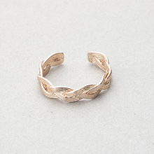 High Quality Fashion Anel Adjustable Boho Jewelry Rose Gold Color Unique Weave Femme Bijoux Rings For Women Engagement Gift