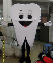 tooth advertising mascot costume size adult costume parties free shipping