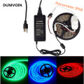 DUMVOIN IP68 Nanometer Waterproof LED 5050 5M Underwater Strip+Dimmer Adjustable Controller+2Pin Connector+12V Power Supply
