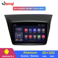 2G RAM 32G ROM Android 8.1 car gps navigation For Mitsubishi Pajero montero sport 2013 2017 multimedia system