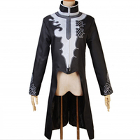 Men's Medieval Renaissance Dovetail Coats Frock Outwear Vintage Prince Coat Medieval Cosplay Jacket Cosplay Costume Clothes Men
