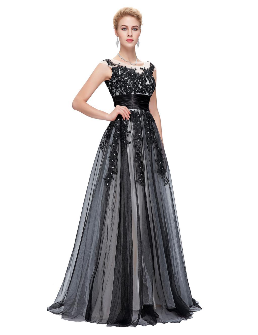 Elegant Lace Appliques Mother of the Bride Dress 6