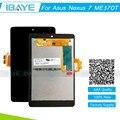 Черный Для ASUS Google Nexus 7 ME370T 1st Gen 2012 ЖК-дисплей + Сенсорный Экран Digitizer для asus nexus 7 me370t экрана