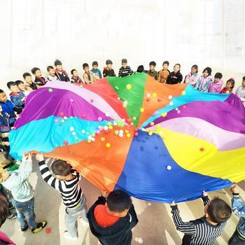 bfc77def5b0c Salida Camping juguete interactivo Arco Iris paraguas al aire libre deportes  juguetes saco Ballute juego paracaídas jardín de infantes NIÑOS 2 m- 6 m