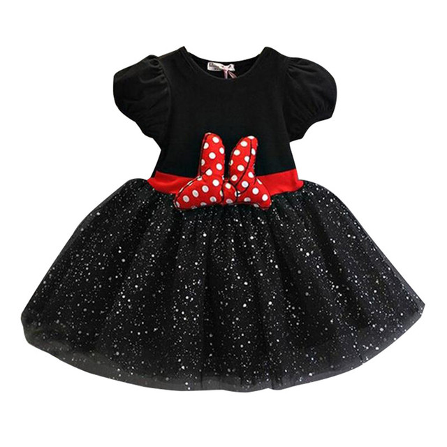 Evening Outfits Baby Girls 2 Years Old Birthday Party Toddler Gown Lace Kid Dress For Girl Elegant Bow Cute