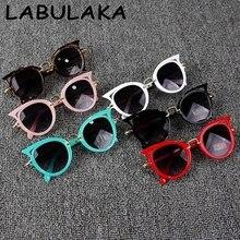 2017 Kids Sunglasses Girls Brand Cat Eye Children Glasses Boys UV400 Lens Baby Sun glasses Cute  Eyewear Shades Goggles