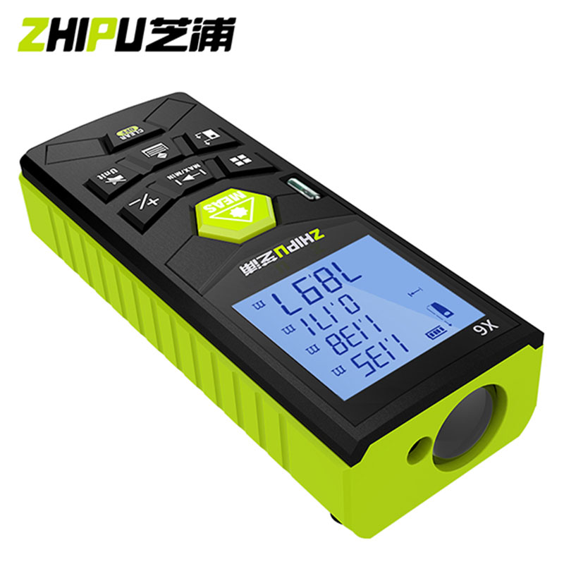 ZHIPU 50M Laser Rangefinder Trena Digital Laser Distance Meter Laser Roulette Device Ruler Tape Build Measure Tool Range Finder