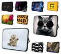 "Cute Cat 7 10 12 13 14.1 15 17"" Laptop Notebook Neoprene Protector Case Cover For 15.4"" Macbook Air/Pro 15.6"" HP Pavilion Dv6 G6"