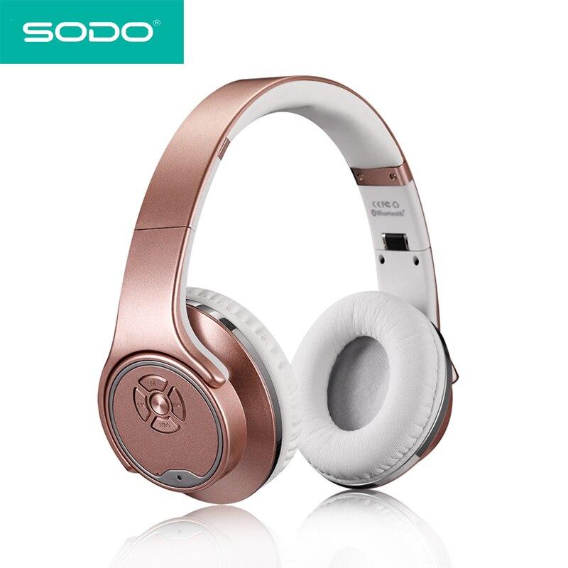 Sodo Mh5 Bluetooth Headphone Twist Out Speaker Bluetooth 4: SODO MH1 Bluetooth Headphone Twist Out Speaker Bluetooth 2