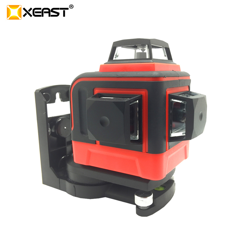 NEW XEAST XE 390R 12 Lines 3D Laser Level Self Leveling 360 Vertical Horizontal And Vertical