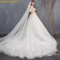 Maternity Dress High Waist Pregnancy Maternity Wedding Plus Size Bride Wedding Gown Long Trailing Princess Dreamy Thin Pregnant