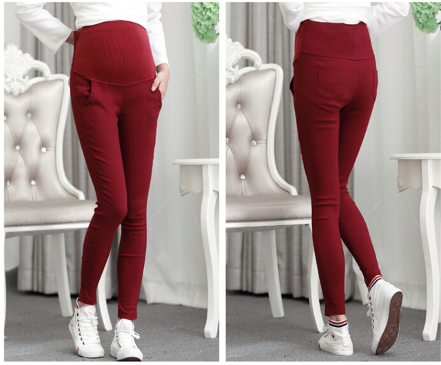 Fashion Maternity Clothing Clothes for Pregnant Women Plus Size Pregnant Trousers Pants Big Belly Pregnancy Pants Capri 2017
