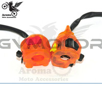 orange personality motorcycle switch 22mm 7/8