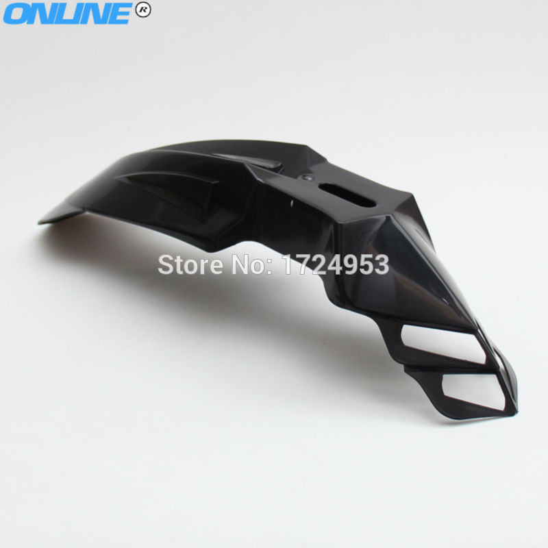 New ABS Plastic Universal Motorcycle off road Supermoto Evo Front Fenders For SX EXC XCF SXF GSX ZXR CBR CBF Free Shipping триммер для бороды и усов philips qt 4015