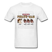 Pacman T-shirt 2019 Classic Game T Shirt Men One Piece King Tshirt Luffy Pirate Man Funny Tops Arcade Anime Ace Print Clothing цена и фото